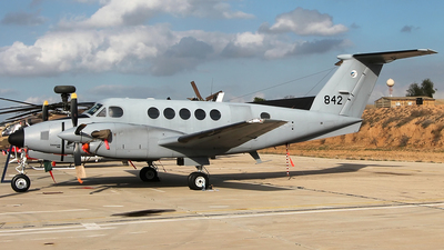 842 - Beechcraft B200CT Zufit 3 - Israel - Air Force