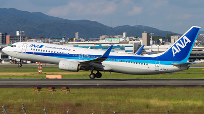 A picture of JA76AN - Boeing 737881 - All Nippon Airways - © LUSU
