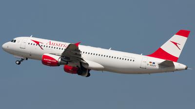 D-ABZC - Airbus A320-216 - Austrian Airlines