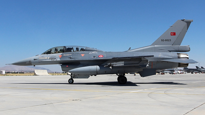 92-0023 - General Dynamics F-16DG Fighting Falcon - Turkey - Air Force