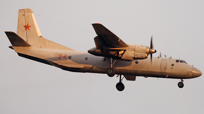 24 - Antonov An-26 - Russia - Air Force