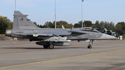 9234 - Saab JAS-39C Gripen - Czech Republic - Air Force