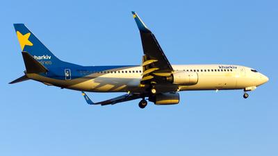 UR-CLS - Boeing 737-8Q8 - Kharkiv Airlines