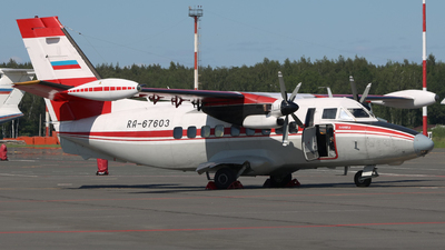 RA-67603 - Let L-410UVP-E Turbolet - Arkhangelsk Aviation