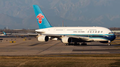B-6138 - Airbus A380-841 - China Southern Airlines