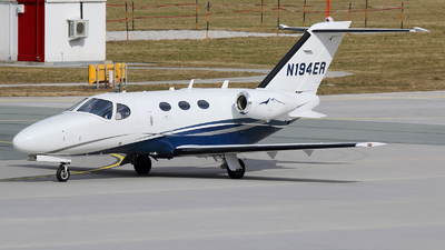 N194ER - Cessna 510 Citation Mustang - Private