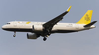 V8-RBA - Airbus A320-251N - Royal Brunei Airlines