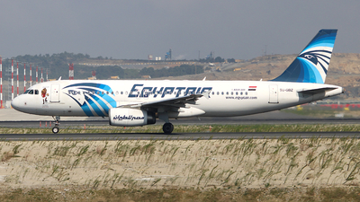 SU-GBZ - Airbus A320-232 - EgyptAir