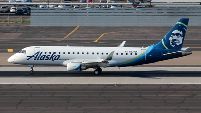 A picture of N631QX - Embraer E175LR - Alaska Airlines - © Huy Do