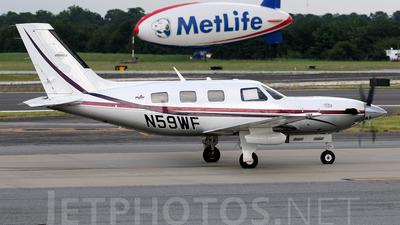 A picture of N59WF - Piper PA46500TP Malibu Meridian - [4697042] - © Agustin Anaya