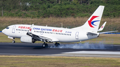 B-6142 - Boeing 737-79P - China Eastern Airlines