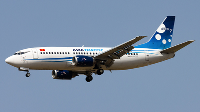 A picture of EX37012 - Boeing 73733A - Avia Traffic - © M Umar Aziz - Snappers Crew