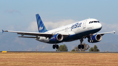 N760JB - Airbus A320-232 - jetBlue Airways