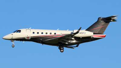 G-MSFX - Embraer EMB-550 Legacy 500 - Flairjet