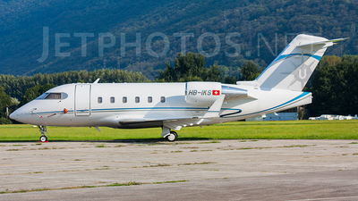 HB-IKS - Bombardier CL-600-2B16 Challenger 601-3A - Air Charter AG