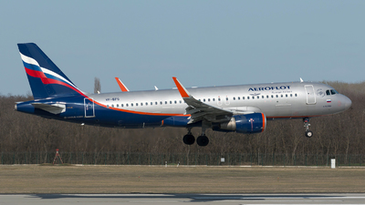 A picture of VPBFG - Airbus A320214 - Aeroflot - © Szabó Imre