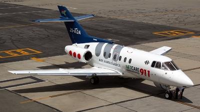 ZS-AOA - British Aerospace BAe 125-800A - Netcare 911 Aeromedical