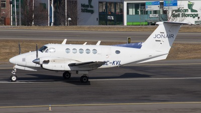 SE-KVL - Beechcraft B200 Super King Air - Jonair