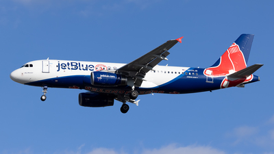 A picture of N605JB - Airbus A320232 - JetBlue Airways - © Cary Liao
