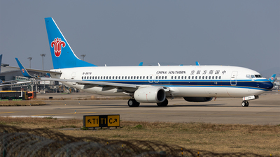 A picture of B5676 - Boeing 73781B - China Southern Airlines - © Levine