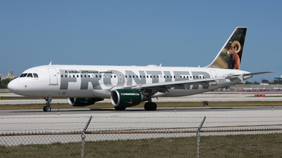 N202FR - Airbus A320-214 - Frontier Airlines