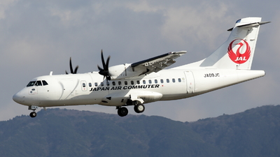A picture of JA09JC - ATR 42600 - Japan Air Commuter - © Masao Ohmoto