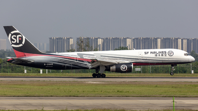 A picture of B2840 - Boeing 7572Z0(PCF) - SF Airlines - © Eric Wang