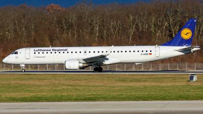 D-AEBR - Embraer 190-200LR - Lufthansa Regional (CityLine)