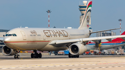 A6-AFE - Airbus A330-343 - Etihad Airways