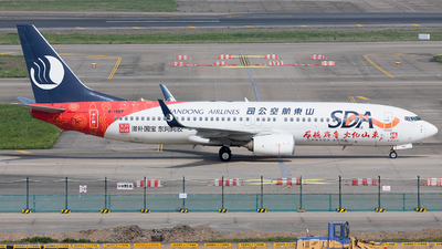 B-1987 - Boeing 737-89L - Shandong Airlines