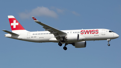 A picture of HBJCO - Airbus A220300 - Swiss - © Chris Pitchacaren