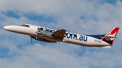 A picture of VHOGX - Fairchild SA226TC - [TC395] - © Steve Horne