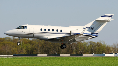 N799AG - Raytheon Hawker 900XP - Private