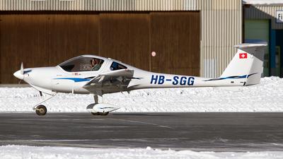 HB-SGG - Diamond DA-20-C1 Eclipse - Motorfluggruppe Chur