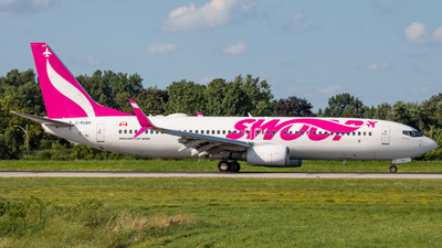 A picture of CFLBV - Boeing 7378CT - Swoop - © Michael MacLeod