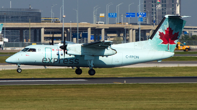 A picture of CFPON - De Havilland Canada Dash 8100 - Voyageur Airways - © Alex I.
