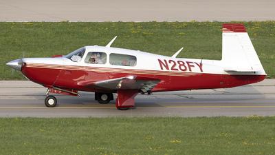 N28FY - Mooney M20J - Private