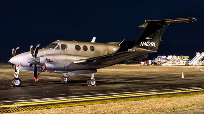 N402BL - Beechcraft F90 King Air - Private