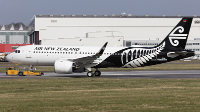 D-AUBU - Airbus A320-271N - Air New Zealand