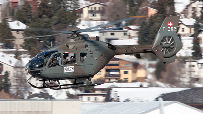 T-362 - Eurocopter EC 635P2+ - Switzerland - Air Force