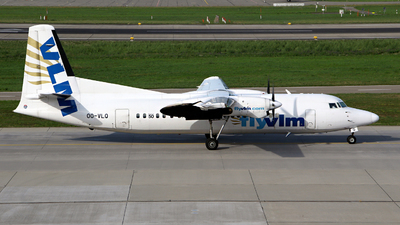 OO-VLQ - Fokker 50 - VLM Airlines