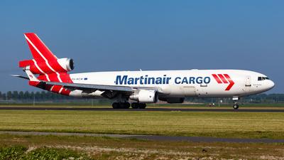 PH-MCW - McDonnell Douglas MD-11(F) - Martinair Cargo