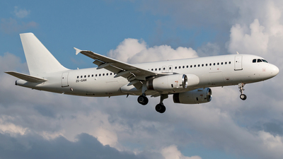ZS-GAW - Airbus A320-231 - Global Aviation Leasing