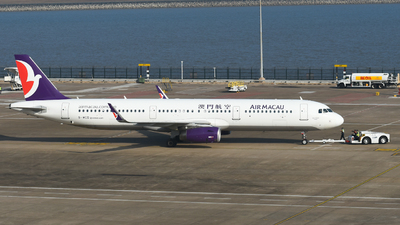 B-MCD - Airbus A321-231 - Air Macau