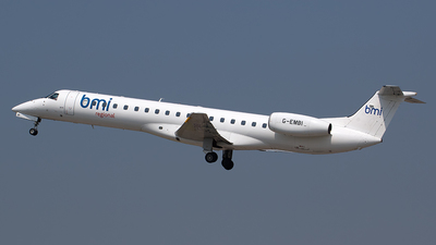 G-EMBI - Embraer ERJ-145EU - bmi Regional