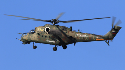 341 - Mil Mi-35M Hind - Russia - Air Force