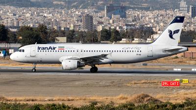 EP-IEE - Airbus A320-211 - Iran Air