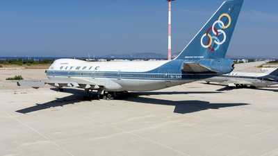 SX-OAB - Boeing 747-284B - Olympic Airways