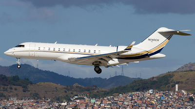 N540CH - Bombardier BD-700-1A10 Global Express - Private