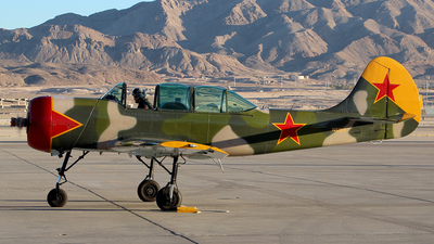 A picture of N52EX - Yakovlev Yak52 - [888407] - © Joshua Ruppert